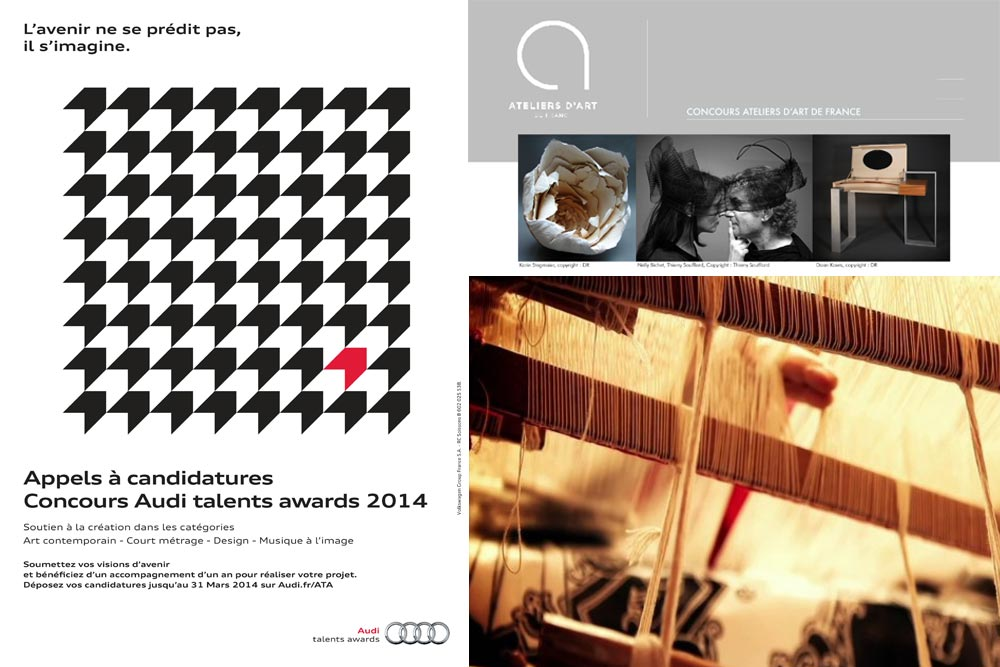 © Audi Talent Awards, Ateliers d'Art de France et Cité de la tapisserie d'Aubusson