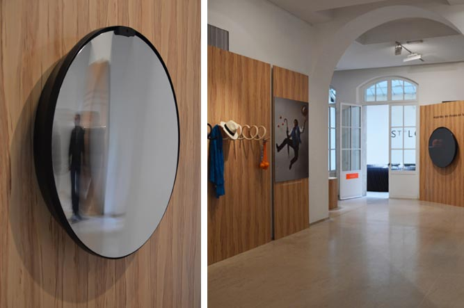 Ondule le miroir interactif par flavie paul gregory for Miroir interactif