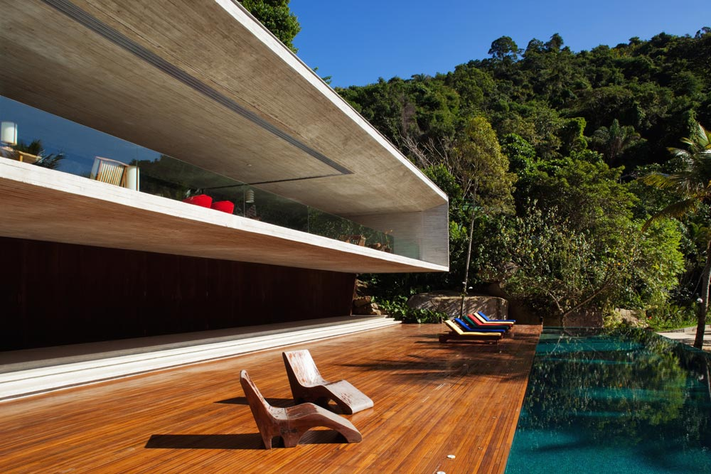 Paraty House par le Studio MK 27 / Architecture made in Brasil / Yooko
