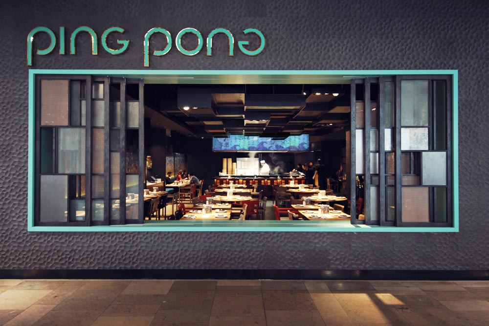Restaurant Ping Pong à Londres par Superfutures et Andy Martin Architects / Yookô