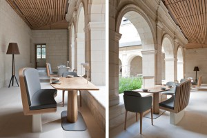 A new hotel-restaurant in the heart of the Fontevraud Abbey by Agence Jouin Manku // © Nicolas Matheus
