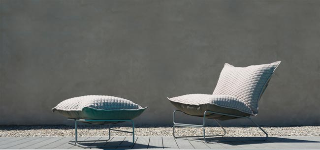 Outchair - Collection de mobilier outdoor et indoor par Marine Peyre / New Hotel Show Dubai / Yookô Network