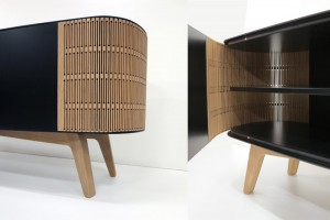 Buffet Mr A-Linéa de Laurent Chabrier pour .RAD Product // © .RAD Product