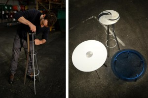 Tables 3 / 4 / 5 d'Amaury Poudray pour Remy Barrere Gears // © Tiphaine Vasse