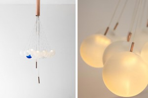 Suspension Random par Studio If - FreshPavillon  Taiwan sur Maison & Objet // © Fresh Taiwan - Studio If