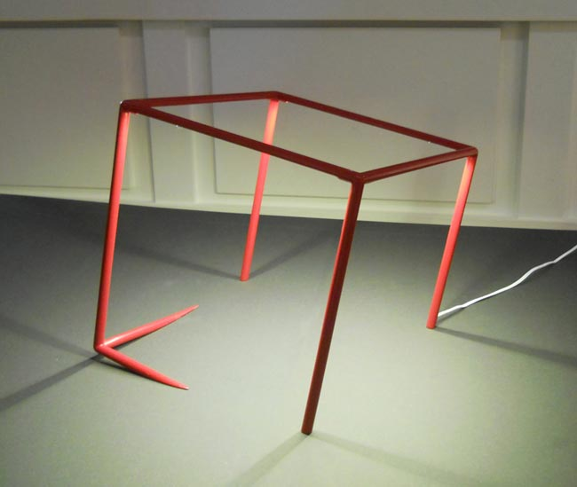 Jeu sur l'illusion pour la lampe Urbicande de Cédric Dequidt  / Paris Design Week 2014 - Now ! le Off / Yookô