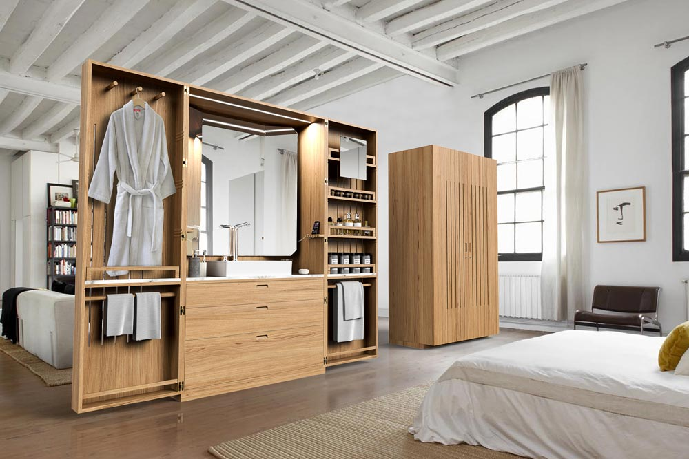la cabine salle d eau ultra compacte par line art et la fonction yook. Black Bedroom Furniture Sets. Home Design Ideas