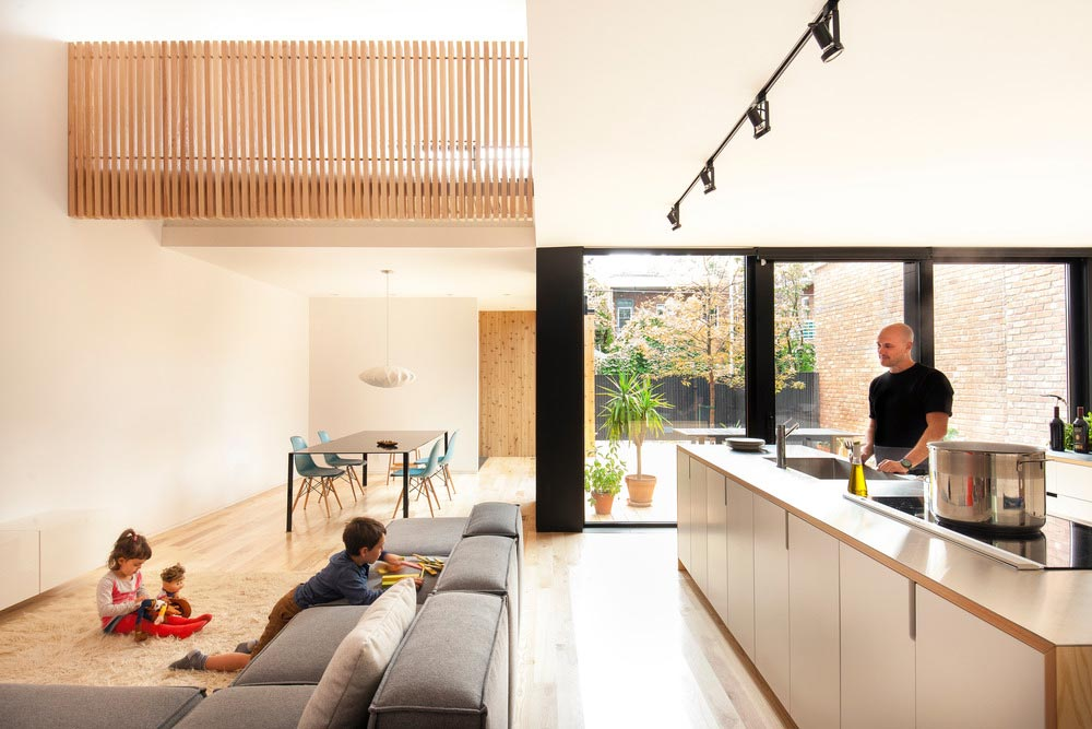La maison de gasp par la shed architecture yook for The family room el segundo