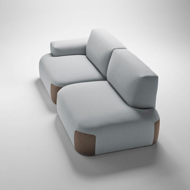 Canapé Pedas de Jean-Louis Iratzoki pour Bosc / Sofa made in France / Yookô