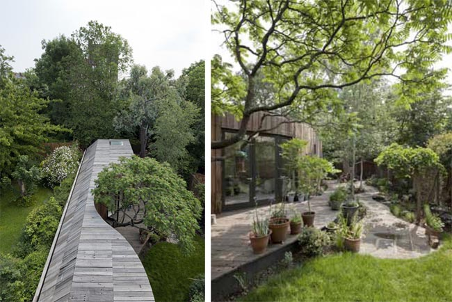 The Tree House - Londres (UK) - 6a Architects (2014) / Maison en bois / Architecture / Yookô