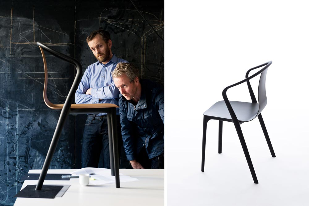 Collection de mobilier Belleville - Erwan & Ronan Bouroullec pour Vitra / Chaises et tables / Mila Design Week 2015 / Yookô