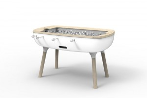 The Pure - Baby Foot contemporain de  luxe - Concept Alain Gilles pour Debuchy by Toulet