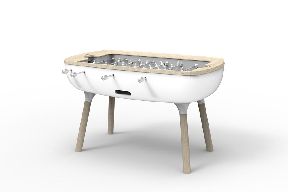 The Pure - Baby Foot contemporain de luxe - Concept Alain Gilles pour Debuchy by Toulet / Made In France / Yookô Network