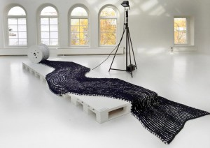 Re Rag Rug exhibition. By Katarina Brieditis and Katarina Evans – 12 months 12 rugs