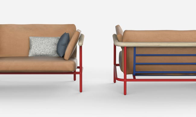 X-RAY SOFA COLLECTION - Design Alain Gilles for La Chance