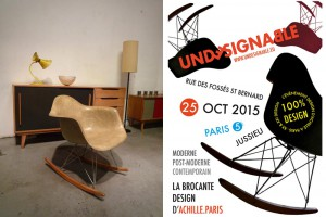 Undesignable - la 1ère brocante design d'Achille à Paris