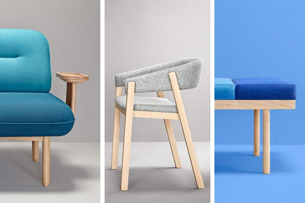 Collection de mobilier The Novelties par l'éditeur espagnol Missana / Best in Design 2015 / Yookô