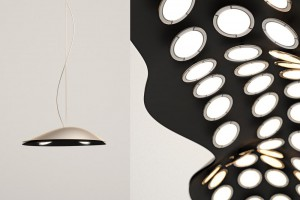 Suspension Madame Cloud L - Design Thierry Gaugain pour Blackbody // © Blackbody