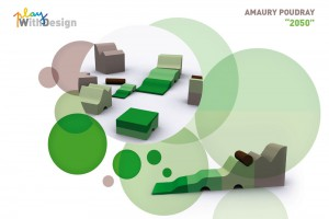 Exposition PlayWithDesign – Amaury Poudray –  2050 // © Playtime