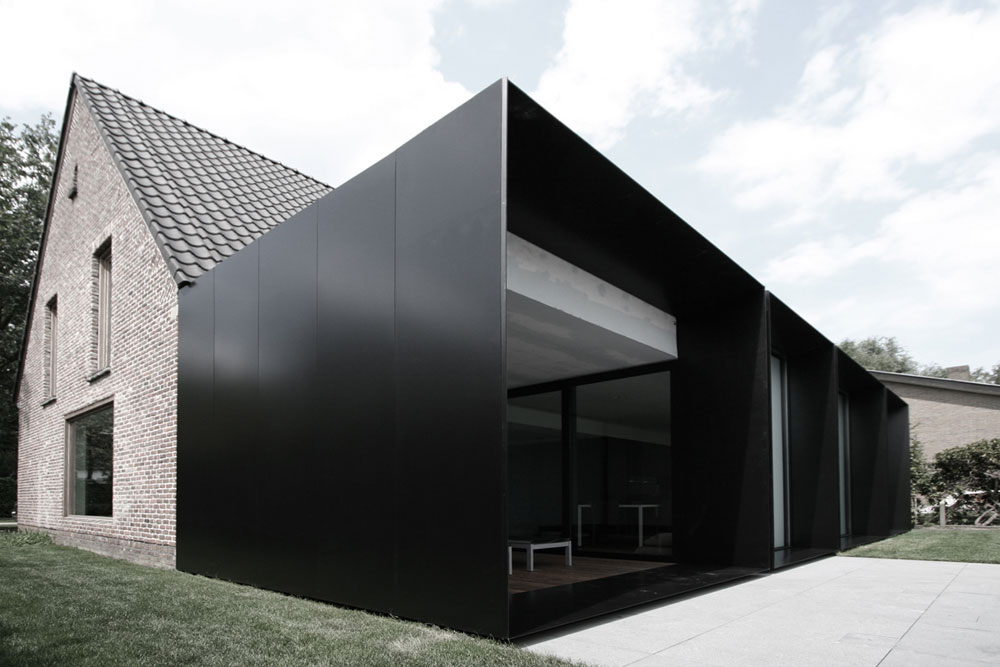Architecture 5 exemples d extensions contemporaines yook for Recours architecte extension garage
