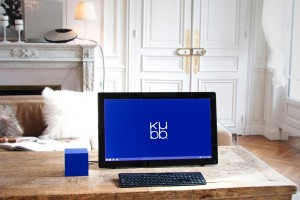 Innovation with Kubb – Computer Made in France and decorative object // © Kubb