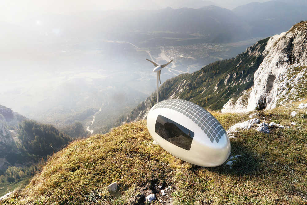 Ecocapsule – The first truly independent mobile micro-house